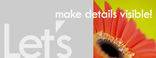 Let's make details visible!